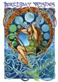 Briar- The Ebb & The Flow - Fantasy Greetings card